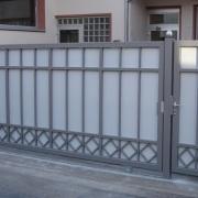 Metallbau - Zaun mit Tor - Erhardt-Metallgestaltung