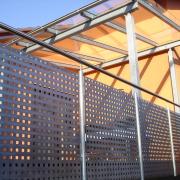 Metallbau - Vordach - Erhardt-Metallgestaltung