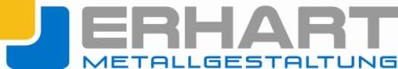 Erhardt-Metallgestaltung (Logo)